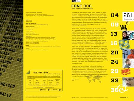 Font magazine