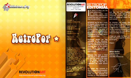 Revolutionart magazine